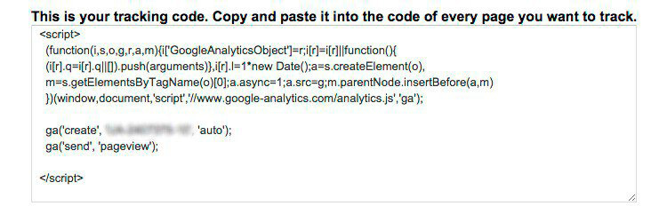 agregar analytics pagina web