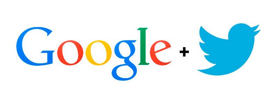 Los Tweets tiene lugares prominentes en Google