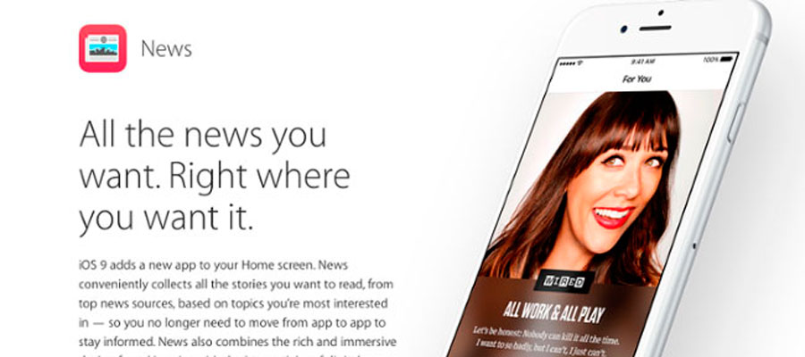 Como agregar tu página web al nuevo Apple News