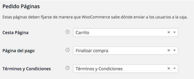 paginas de pedido woocommerce mexico