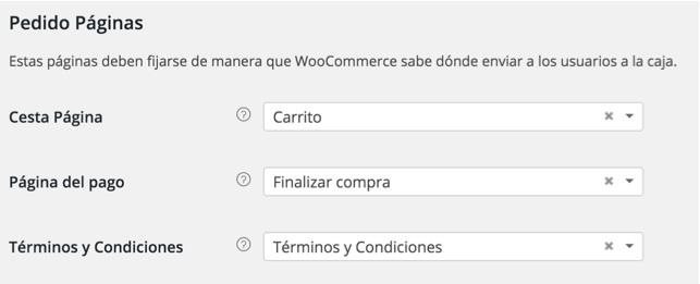paginas de pedido woocommerce mexico