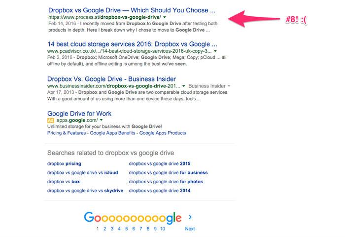 aparecer mejor en google