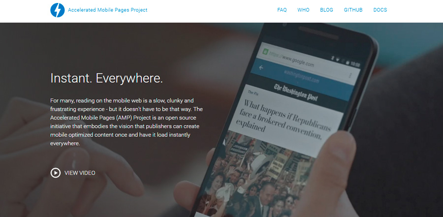 accelerated mobile pages google amp