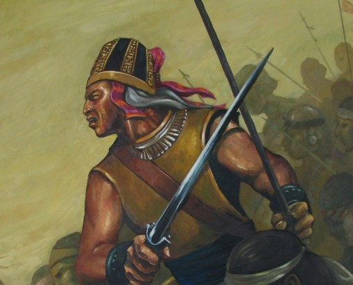 Helamán y los 2000 guerreros jóvenes