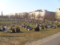 Die Görlikuhle an einem Frühlingstag