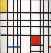 Piet-Mondrian-Composition-with-Yellow-Blue-and-Red-1937-42