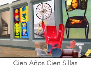 Cien años Cien sillas Jorge Santana