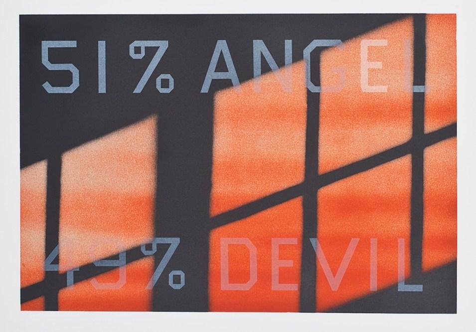 FAPO:__ACTIVIDADES__:__INVESTIGACIÓN__:Escritura_Tesis:_TESIS_:__casos_2a_MITAD:__nvas_otros_autores:_REMAKES_:u1_Ed Ruscha, '51% Angel, 49% Devil', 1983.jpg