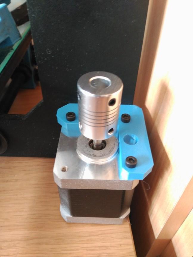 acople eje motor impresora 3D