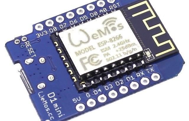 wemos ESP8266 con wifi