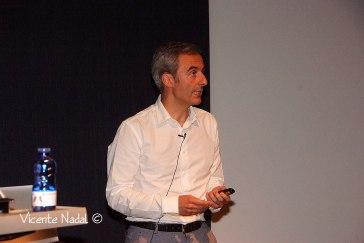 Jorge Segado en el ISC 2014. ©Vicente Nadal