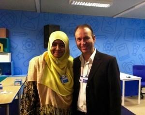 Yasmin Noorul Amin, finalista de Malasia del Global Teacher Prize 2015