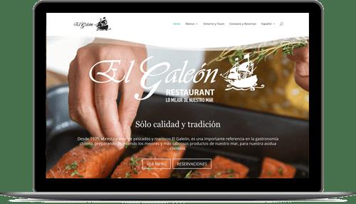 Sitios Web restaurantes