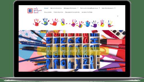 Sitio Internet escolar