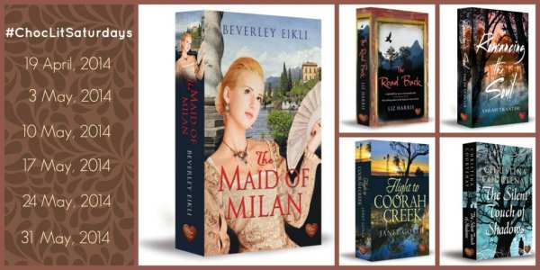 #ChocLitSaturdays Collage of Upcoming ChocLit Book Reviews