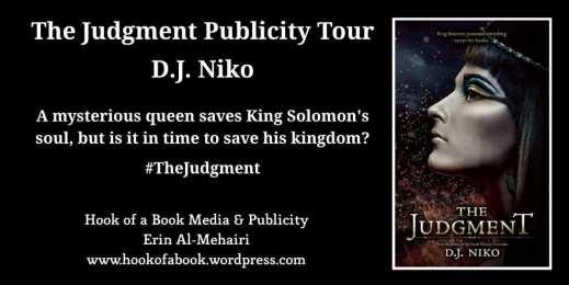 The Judgment Blog Tour via Hook of a Book Media & Publicity