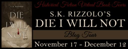 Die I Will Not Blog Tour via HFVBTs