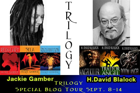 Trilogy Tour with Jackie Gamber & H. David Blalock via Tomorrow Comes Media