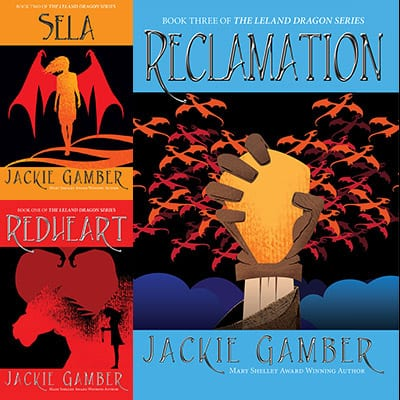 Leland Dragon series by Jackie Gamber