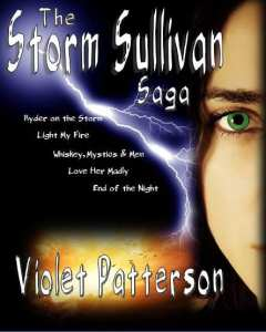 Storm Sullivan Saga | Emerald Seer series by Violet Patterson Boxed Set Edition