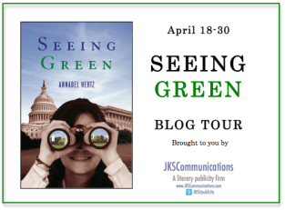 Seeing Green Virtual Book Tour with JKS Communications