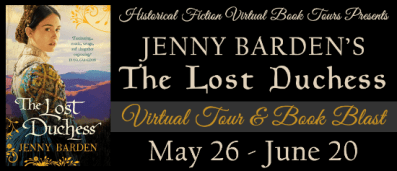 The Lost Duchess Virtual Book Tour with HFVBT