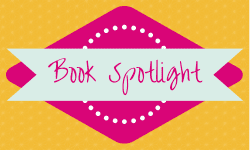 Book Spotlight badge created by Jorie in Canva