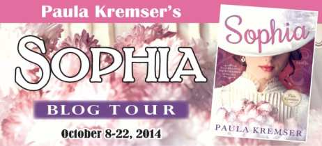 Sophia Blog Tour with Cedar Fort