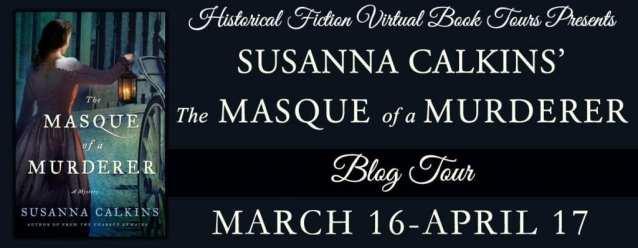 The Masque of a Murderder Blog Tour via HFVBTs