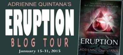 Eruption Virtual Blog Tour via Cedar Fort Publishing & Media