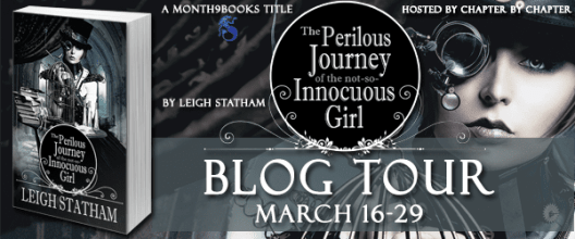 The Perilous Journey of a Not So Innocuous Girl Blog Tour via Chapter by Chapter