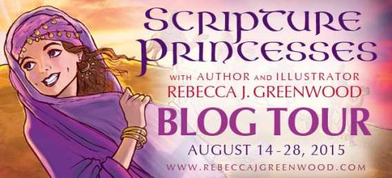 Scripture Princesses Blog Tour via Cedar Fort Publishing & Media