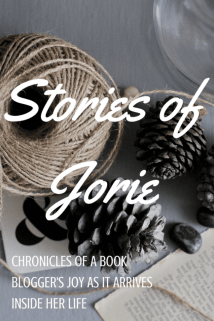 Stories of Jorie badge created in Canva