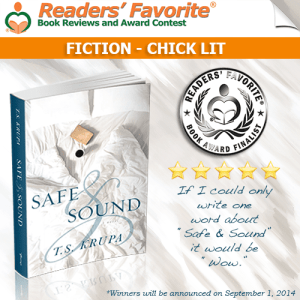 Safe & Sound by T.S. Krupa is Nominated for a Reader's Favourite Award