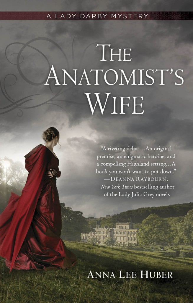 "Book Review | ""The Anatomist's Wife"" (#LadyDarby, No.1) by Anna Lee Huber"