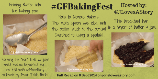 #GFBakingFest Making the Bar by Jorie in Canva