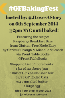 #GFBakingFest Shopping List by Jorie in Canva