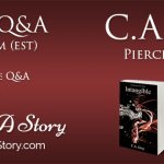 Live Author Q&A with C.A. Gray badge created by Royal Social Media