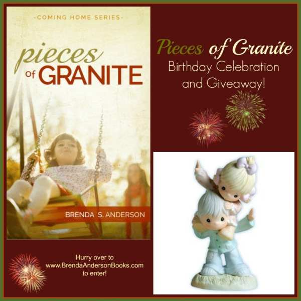 Brenda S. Anderson's giveaway to celebrate release of Pieces of Granite; not a part of Jorie Loves A Story