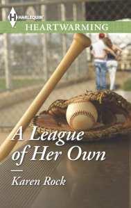 "Blog Book Tour   ""A League of Her Own"" by Karen Rock a #Contemporary #Romance centered around baseball!"