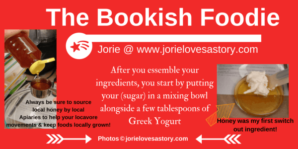 The Bookish Foodie Part 2 Collage by Jorie in Canva (New Year's Eve)