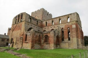Photo Credit: Lanercost Priory taken by Mary F. Burns