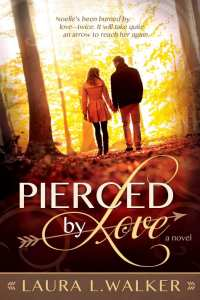 """Blog Book Tour   """"Pierced by Love"""" by debut novelist Laura L. Walker an INSPY Contemporary Romance honestly portraying how a heart can heal through the power and conviction of love entwined with faith!"""
