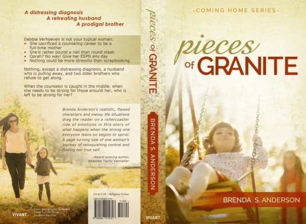 Pieces of Granite by Brenda Anderson (both sides)
