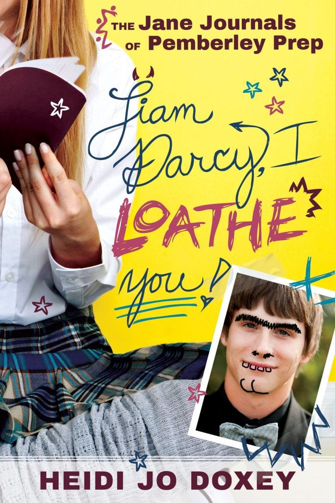 "Blog Book Tour | ""Liam Darcy, I Loathe You"" (Book No. 1 of the Jane Journals  series) by Heidi Jo Doxey A #contemporary inspired story based on #JaneAusten's canon!"