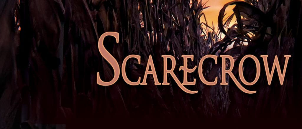 Scarecrow banner by World Weaver Press