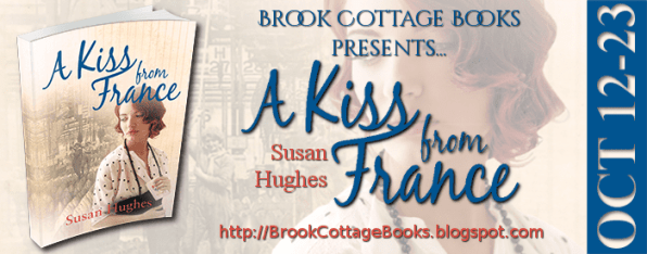 A Kiss from France blog tour via Brook Cottage Book Tours