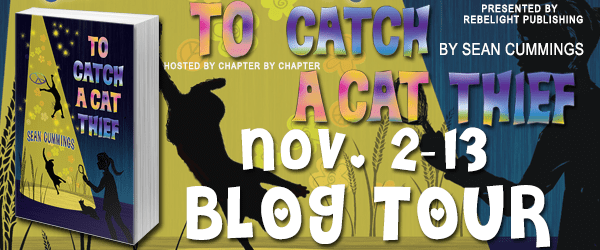 To Catch A Cat Thief Blog Tour via Chapter by Chapter Blog Tours.