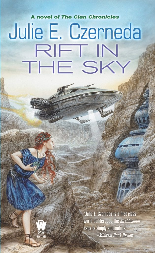 "Book Review | #whoaretheclan | ""Rift in the Sky"" by Julie E. Czerneda Jorie reads #TheClanChronicles for #RRSciFiMonth!"