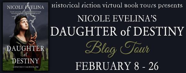 Daughter of Destiny blog tour via HFVBTs